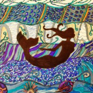mermaid art for sale