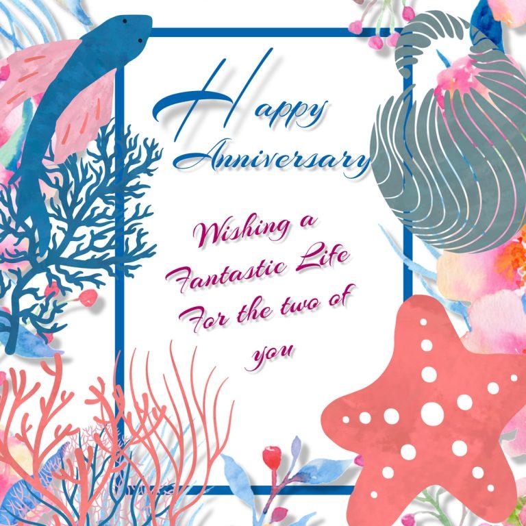 Anniversary mercards