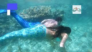 mermaid couples card